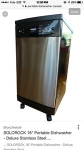 LOOKING for portable dish washer