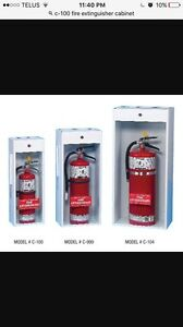 Outdoor 5lb. Fire extinguisher cabinet