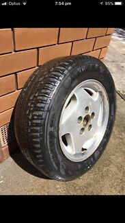 """15 """" inch ford Fairmont mags wheels only 1 In roadworthy condition"""