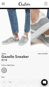 ADIDAS GAZELLE size 7 (fits like 7.5) PERFECT CONDITION