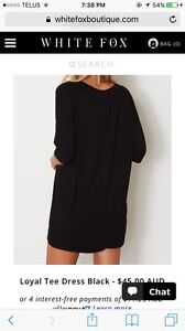 Over sized t shirt dress