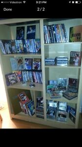 collection de disque cd ,d'elvis DVD ,concerts