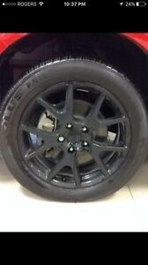 225/55/19 kumho tires on Dodge Journey 19 inch mags
