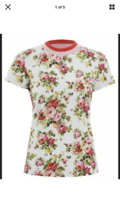 Zimmermann Radiate Floral Tee T-shirt Size 1