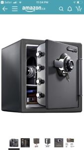 New in Box SentrySafe Combination Fire-Safe