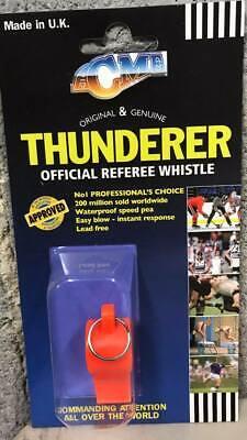 Acme Thunderer Official Referee Whistle 660 - Orange