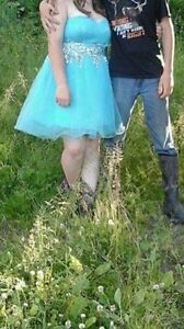 Baby Blue Prom dress for sale
