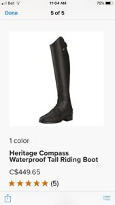 Ariat tall waterproof riding boots