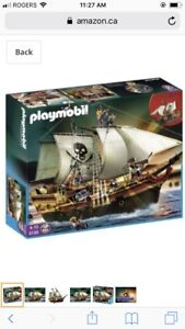 PLAYMOBIL Pirate Ship 5135 - Pirates - NEW in Sealed Box