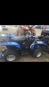 Parting out 2012 Yamaha grizzly 550 and a suzuki Vinson 500