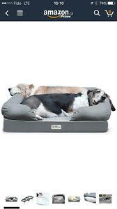Petfusion Ultimate Dog Bed and lounge - large size $150 OBO