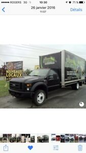 Camion  Cube f550 diesel 100 000 km
