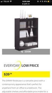 Dark Brown Bookcase for sale