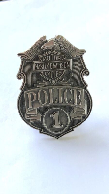 Harley-Davidson Police 1 Motorcycles Belt Buckle New