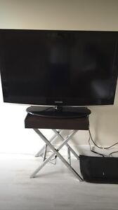 Tv and table (ps4 not included)