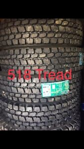 Semi Tires LongMarch Drives Trailer Steers Trailer LT Truck