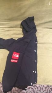 North face and supreme jacket