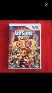 Wii Game - My Sims Party EUC