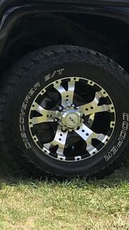 4x4 wheels and tyres Colorado hilux  dmax ect