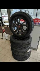 Honda Odyssey snow tire package.