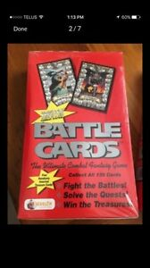 Battle card cases Merlin collectables