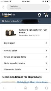 Brand new dog car/truck seat cover. Never used!