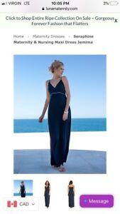Wanted: Seraphine maternity maxi dress