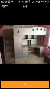 Jysk Loft Bed - twin size