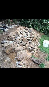 Free sandstone garden rocks Oyster Bay Sutherland Area Preview