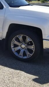 """Chevy 22"""" wheels to trade"""