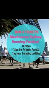 Win 4 Sydney running festival tickets for you and 3 Buddies Zetland Inner Sydney Preview
