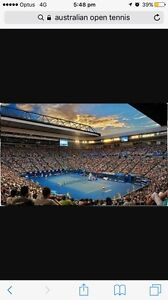 Australian open ticks Rod Laver Friday 20 day session 11:00am Manly Vale Manly Area Preview
