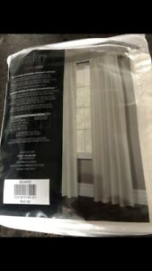Brand new cream coloured curtains