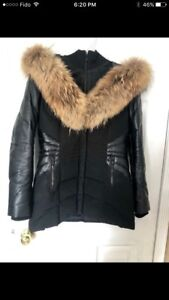 Daniel Leather Parka