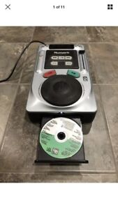 Numark Axis 2 Professional CD Player DJ Scratch Pad Tabletop Not