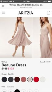 Aritzia Beaune Dress