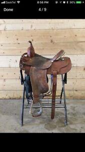 """15"""" Courts Barrel Saddle"""