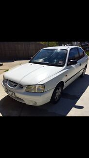 HYUNDAI ACCENT REGISTERED Footscray Maribyrnong Area Preview