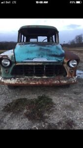 1955 Chevy Suburban Carry All - Complete build $8500