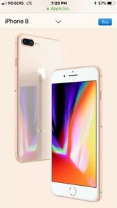 Wanted iPhone 8 256g in rose gold