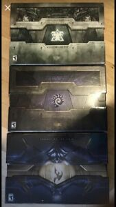 Starcraft 2 collector editions