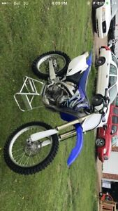 08 Yz450f & 03 CBR954RR for sale