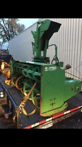John Deere snowblower, excellent condition. Fully serviced, 88""