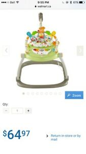 FisherPrice Woodland Friends Space Saver Jumperoo/exersaucer