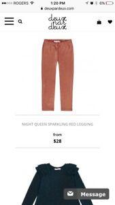 Deux par deux leggings brand new