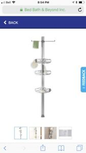 SimpleHuman Shower Caddy - Tension Adjustable Height