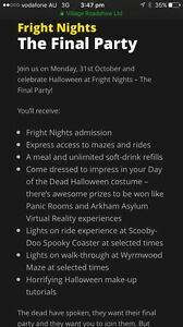 Fright Night Ticket - The Final Party Caboolture Caboolture Area Preview