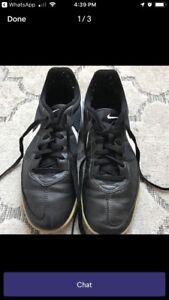 Nike air soccer shoes - good condition