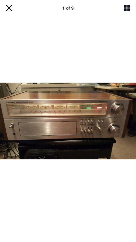 Vintage Toshiba Sa-7100 Stereo Receiver Excellent Working Condition