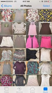 Size large clothing lot women over 60 pieces